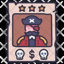 Criminal Pirate Poster Icon