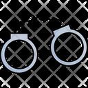 Criminal Wear Handcuffs Law Enforcement Icon