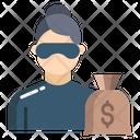 Criminal Woman Icon