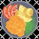 Crispy Fried Chicken Icon