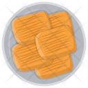 Crispy Wheat Biscuit Icon