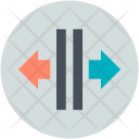 Crisscross Arrows Dragging Icon