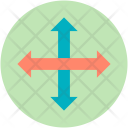 Crisscross Arrows Enlarge Icon