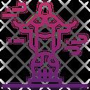 Cristo Rei Of Dili Icon