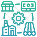 Critical Business Process Business Process Manufacture Icon