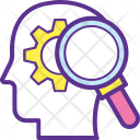 Critical Judgment Thinking Icon