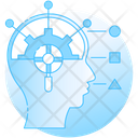 Critical Thinking Logical Thinking Brain Processing Icon
