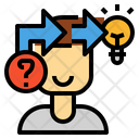 Critical Thinking Idea Icon