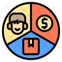 Segment Consumer Behavior Icon