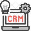 Crm Process Sales System Icon