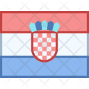 Croatia Flag Country Icon
