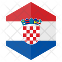Croatia Country Flag Icon