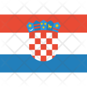 Croatia Flag World Icon