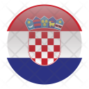 Croatia Croatian European Icon