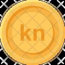 Croatia Kuna Coin Kuna Croatia Icon