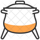 Crock Kettle Pot Icon