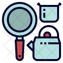 Cookwear Kitchen Camping Icon