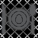 Dinner Food Dishware Icon