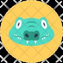 Crocodile Crocodylidae Large Icon