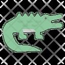 Crocodile Animals Kingdom Icon