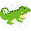 Crocodile Large Reptile Icon