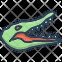 Crocodile Alligator Cocodrilo Icon