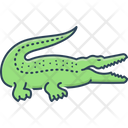 Crocodile Crocodylus Crocodilus Icon