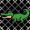 Crocodile Alligator Reptillia Icon