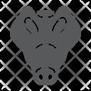 Crocodile Reptile Face Icon