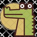 Crocodile Pet Animal Icon