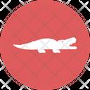 Crocodile Creature Predator Icon