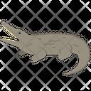 Crocodile Animal Wildlife Icon