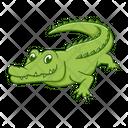 Crocodile Zoo Wildlife Icon