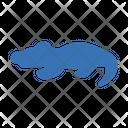 Crocodile Reptile Forest Icon