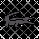 Crocodile Zoo Alligator Icon
