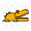 Crocodile Elegator Toy Icon