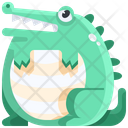 Crocodile Wildlife Wild Icon