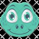 Crocodile Reptile Alligator Icon
