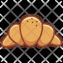 Croissant Bakery Food Icon
