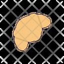 Croissant Bread Bakery Icon