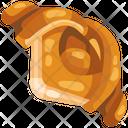Croissant Pie Icon