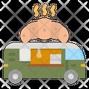 Croissant Truck Croissant Truck Icon