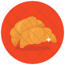 Croissants Bakery Food Sweet Snack Icon