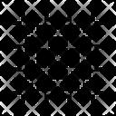 Crop Rule Grid Icon