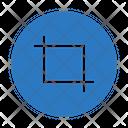 Crop Editing Tools Icon
