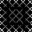 Crop Edit Cut Icon