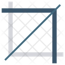 Crop Grid Photography Icon
