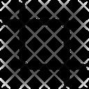 Crop Cut Frame Icon
