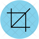 Crop Tool Trim Icon