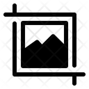 Crop Edit Image Icon